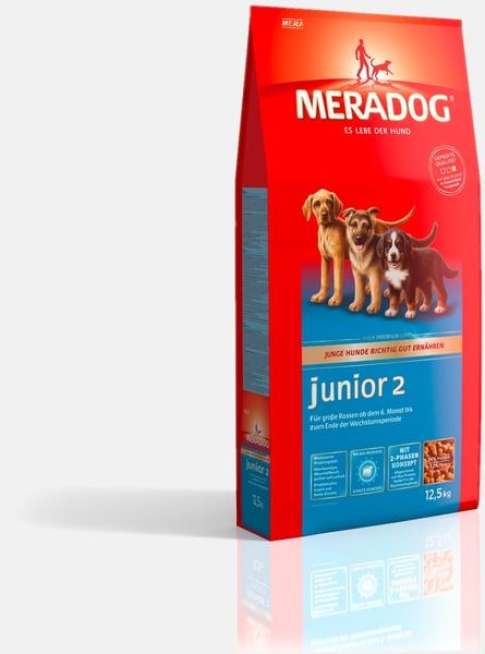 hundefutter der firma meradog meradog junior 2 versandkostenfrei bestellen. Black Bedroom Furniture Sets. Home Design Ideas